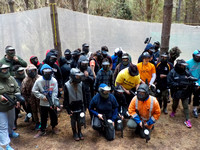 8th October Paintball